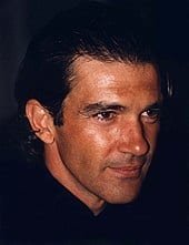 Face of Antonio Banderas